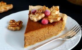 Pumpkin pie américaine