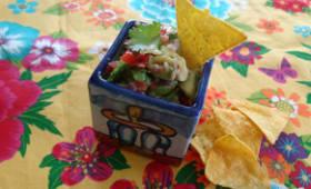 Le véritable guacamole Mexicain