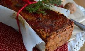 Lentil et chesnut loaf