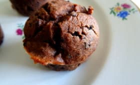 Muffins double chocolat sans beurre