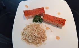 Pain de surimi-tomates