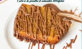 Cake à la poudre d'amandes torréfiées