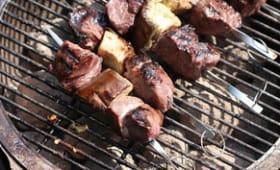 Brochettes d'agneau à la géorgienne
