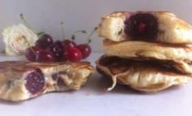 Crêpes Alsacienne aux cerises ou kerscha kierla