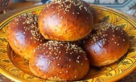 Krachel, brioche marocaine au yaourt