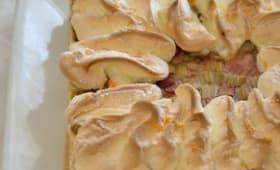 Tarte rhubarbe-orange, de Christophe Felder