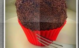 Boule de chocolat meringuée
