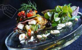 Salade à la feta maison