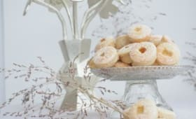 Amaretti aux agrumes et gingembre