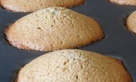 Madeleines à la farine de sarrasin