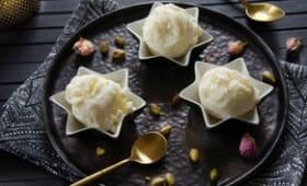 Crème glacée à la cardamome