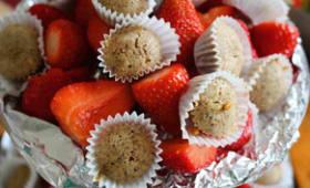 Mini financiers pistache et bergamote