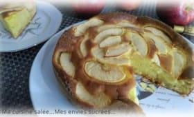 Gâteau pommes mascapone