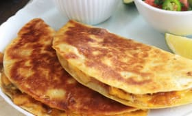 Quesadillas mexicaines aux légumes