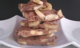Frozen chocolat banane healthy
