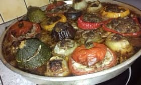 Légumes farcis ou petits farcis