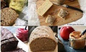 Tartinades spéciales apéritifs ou pique-niques et pains