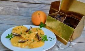 Salade d'oranges à la menthe et à la cannelle
