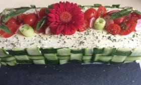 Sandwich-cake des jeunes mariés