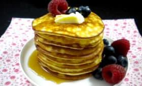 Pancakes super moelleux comme aux U.S.