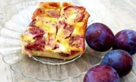 Flognarde aux prunes