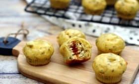 Mini muffin apéritif coeur boursin