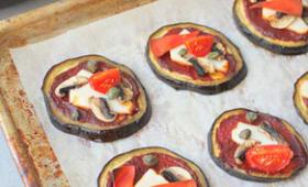 Aubergine façon pizza