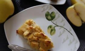 Gâteaux aux pommes et tofu soyeux