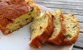 Cake courgette et chèvre