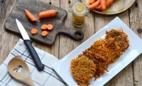Galettes de carottes