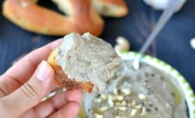 Caviar d'aubergine à la noix de cajou