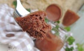 Mousse légère au chocolat & lait de coco