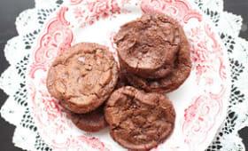 Biscuits chocolat, fleur de sel et piment d'Espelette