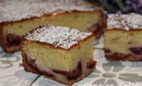 Mon gâteau d'amour aux quetsches