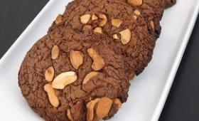 Cookies au chocolat et noix de cajou