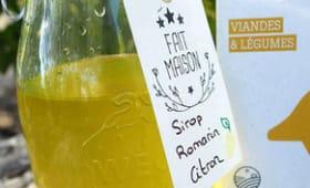 Sirop citron romarin