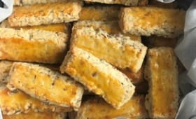 Bâtonnets aux amandesà la farine d'épeautre