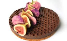 Tarte aux figues au Porto et chocolat