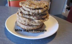 Pancake à la farine de châtaignes