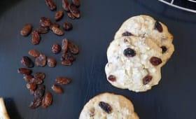Cookies à la banane et flocons d'avoine