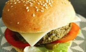 Veggie burger minute