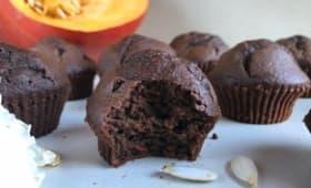 Muffins chocolat et potimarron