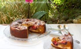 Gâteau aux figues et cream cheese