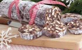 Saucisson au Chocolat sans oeuf
