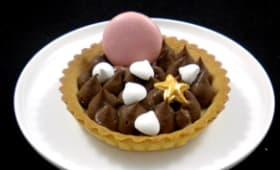 Tartelettes sablées au chocolat