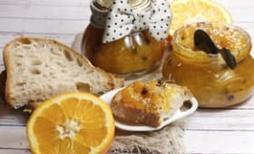 Confiture d'orange aux pépites de chocolat