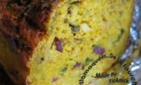 Cake au Potimarron et Gésiers de Canards Confits