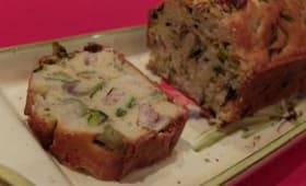 Cake aux harengs, poireaux et olives  – La cuisine du mercredi