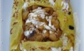 Crêpes aux Pommes à la Crème Impérial Vanillée