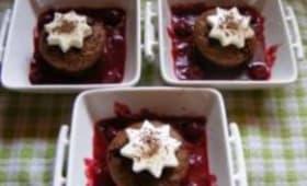 Dessert de Fête aux Griottes et Chocolat